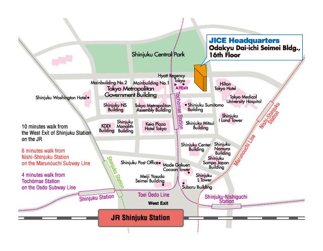 JICE map