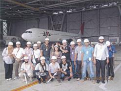 JAL整備工場見学
